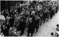 Belegschaft der Tischlerei Geyer in den 30er Jahren