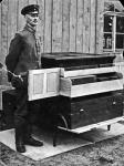 1918 / Alfred Geyer waehrend des 1. Weltkrieges