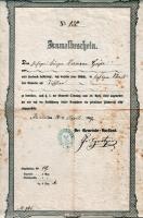 1867 / Gewerbeanmeldung von Hermann Geyer