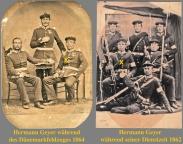 Hermann Geyer beim Militaer