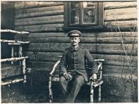 1916 / Alfred Geyer waehrend des 1. Weltkrieges