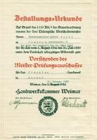 1939 / Bestallungsurkunde