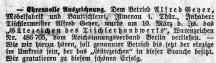 1937 / Artikel in der Zeitung