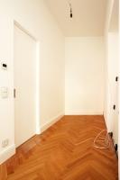 Ankleidezimmer vor dem Einbau der Möbel