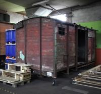 unrestaurierter Güterwagen