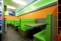 Einrichtung eines Schnellrestaurants