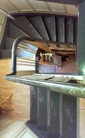 alte Treppe vor der Sanierung