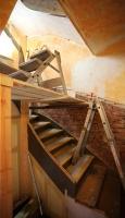 Sanierung der alten Treppe