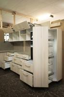 Küchenmöbel in der Werkstatt vormontiert