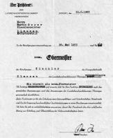 1953 / Martin Geyer wird Obermeister der Tischlerinnung