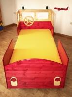 Kinderbett Feuerwehrauto