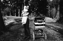1973 - Doris Geyer mit Tochter Jenny