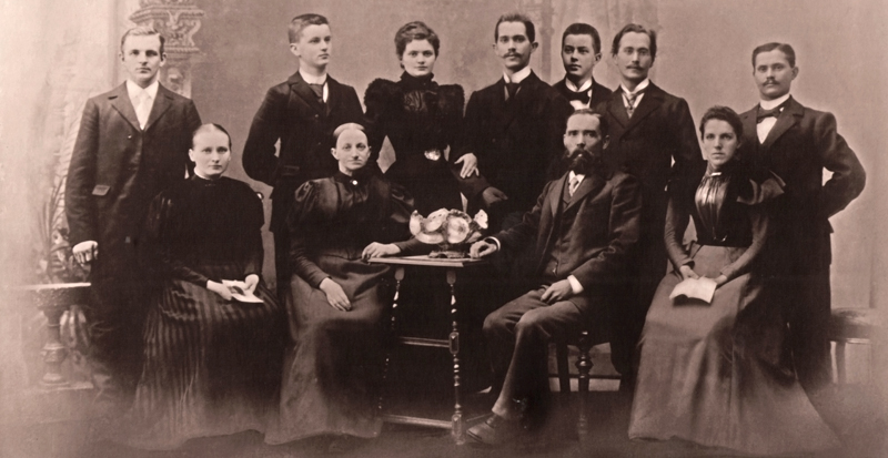 Familie Hermann Geyer 1898