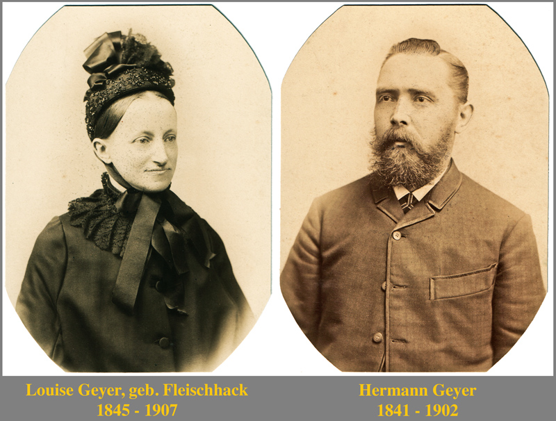 Louise und Hermann Geyer